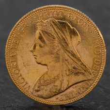 Second Hand Queen Victoria 1898 Full Sovereign Coin