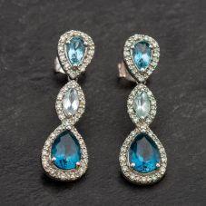 Second Hand White Gold Diamond Earrings 4183698