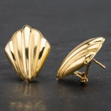 Second Hand 18ct Yellow Gold Stud Earrings 4183744