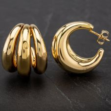 Second Hand 14ct Yellow Gold Hoop Earrings 4183747