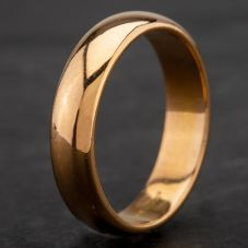 Second Hand 18ct Yellow Gold Plain Wedding Ring 4187048
