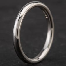Second Hand Platinum 2mm Plain Wedding Ring 4187067