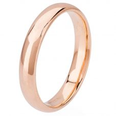 Second Hand 18ct Rose Gold 4.5mm Plain Wedding Ring