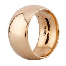 Second Hand 9ct Yellow Gold 11mm Wide Wedding Ring