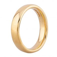 Second Hand 18ct Yellow Gold 4mm Plain Wedding Ring