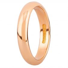 Second Hand 22ct Yellow Gold 4mm Wide D Shaped Wedding Ring