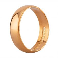 Second Hand 22ct Yellow Gold 5mm Plain D-Shape Wedding Ring