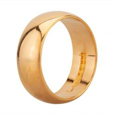 Second Hand 22ct Yellow Gold D-Shaped 6mm Wedding Ring