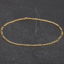 "Second Hand 10"" 3+1 Figaro Anklet 4188967"