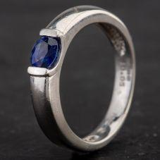 Second Hand Platinum Sapphire Dress Ring 4309357