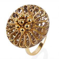 Second Hand 14ct Yellow Gold Fancy Ring 4309982