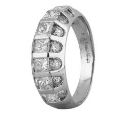 Second Hand Platinum 2.25ct Multi Diamond Ring