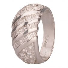 Second Hand Le Vian 18ct White Gold Multi Diamond Ring