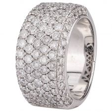 Second Hand 9ct White Gold 2.00ct Diamond Ring 4332817