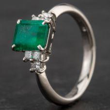 Second Hand Platinum Multi Stone Dress Ring 4337049