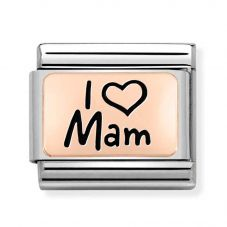 Nomination CLASSIC Composable Limited Edition Rose Gold I Heart Mam Charm 430111/03