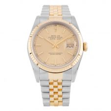 Second Hand Rolex Mens Oyster Perpetual Datejust Watch 16233(9321) - Year 1990