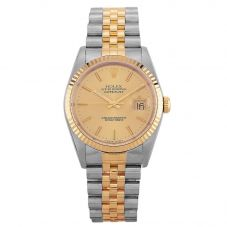 Second Hand Rolex Mens Oyster Perpetual Date Watch 16233(12151) - Year 1992