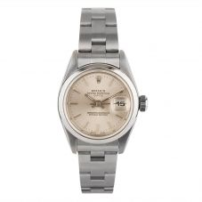 Second Hand Rolex Ladies Oyster Perpetual Date Watch 79160 - Year 2001