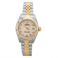 Second Hand Rolex Ladies Oyster Perpetual Datejust Watch 69173(12978) - Year 1994
