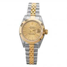 Second Hand Rolex Ladies Oyster Perpetual Datejust Watch 69173(12970) - Year 1996