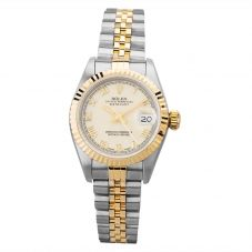 Second Hand Rolex Ladies Oyster Perpetual Datejust Watch 69173(12983) - Year 1997