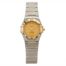 Second Hand OMEGA Constellation Diamond Bracelet Watch R517224(457)