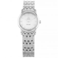 Second Hand Omega De Ville Silver Bracelet Watch 4570.71.00