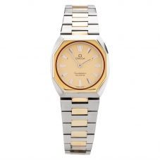 Second Hand OMEGA Ladies 18ct Gold Constellation Bracelet Watch