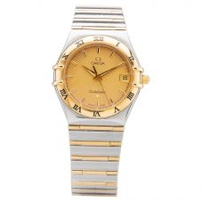 Second Hand OMEGA Mens Constellation Bracelet Watch