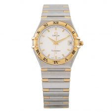 Second Hand Omega Mens Two Colour Constellation Bracelet Watch 77(10/20)