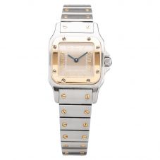 Second Hand Ladies Cartier Santos Watch (2/20)
