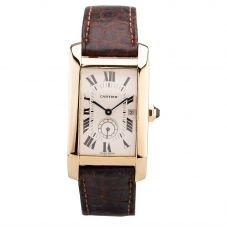 Second Hand Cartier Americaine Watch 86(2/20)