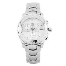 Second Hand TAG Heuer Link Chronograph Silver Bracelet Watch CAL.251.262