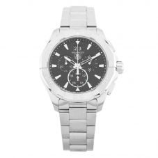 Second Hand TAG Heuer Aquaracer Chronograph Silver Bracelet Watch CAY1110.BA0927 (C605012)