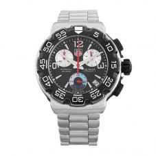 Second Hand TAG Heuer Formula 1 Professional Black Bracelet Watch CAC1110.BA0850