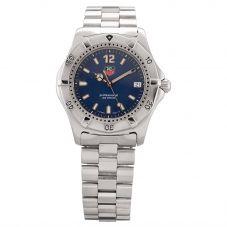 Second Hand TAG Heuer Mens Professional 2000 Series Blue Bracelet Watch WK1213.BA0312