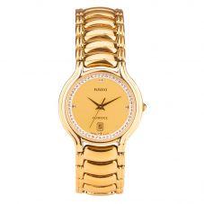 Second Hand Rado Florence Gold Plated Bracelet Watch 129.3645.2
