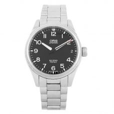 Second Hand Oris Big Crown Propilot Black Bracelet Watch 01 751 7697 4164-07 5 20 14FC (H511051)