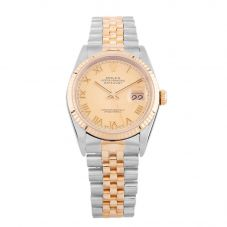 Second Hand Rolex Mens Oyster Perpetual Datejust Watch 16233