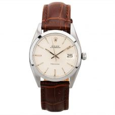 Second Hand Rolex Mens Oysterdate Watch 6694