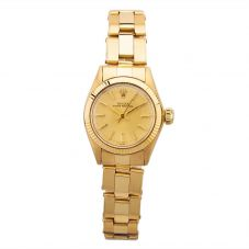 Second Hand Rolex Ladies Oyster Perpetual Watch 6719 - Year 1973