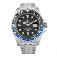 Second Hand Rolex Mens Oyster Perpetual Date GMT Master II Watch 126710BLNR