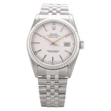 Second Hand Rolex Mens Oyster Perpetual Datejust Watch 4411064