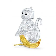 Swarovski Monkey With Banana Figurine 5524239