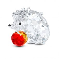 Swarovski Hedgehog With Apple Figurine 5532203