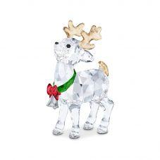 Swarovski Santas Reindeer Figurine 5532575