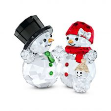 Swarovski Snowman Family Ornament 5533948