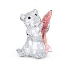 Swarovski Bear With Fish Figurine 5536772