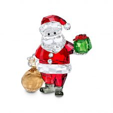Swarovski Santa Claus With Gift Bag Figurine 5539365